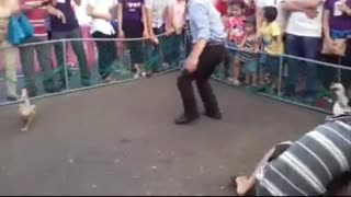 Traditional game in Vietnam - Video
