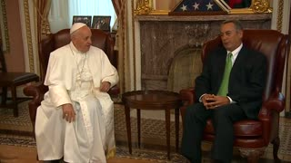Pope to address U.S. Congress - Video