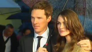 Benedict Cumberbatch and Keira Knightley talk Oscar buzz on biopic 'The Imitation Game' - Video