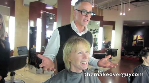 MAKEOVER! Turning 60 and Wanting More Sass, by Christopher Hopkins, The Makeover Guy®