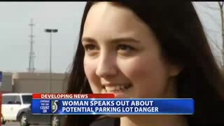 Teen Whose Life Was In Grave Danger Warns Others After Finding A Shirt On Her Car - Video