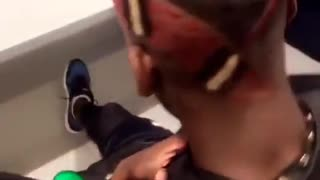 VIDEO: Paul Pogba changes his hairstyle again and it is even weirder than before - Video