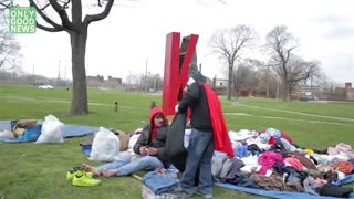 Who Helps The Homeless? It's A 9-Year-Old Superhero! - Video