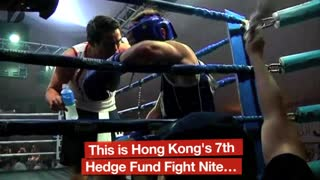 Chinese Banker Boxing - Video