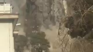 Tehran fire Plasco building collapses, 30 feared dead - Part 3 - Video