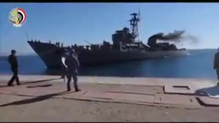 Egypt seizes Iranian ship loaded with drugs - Video