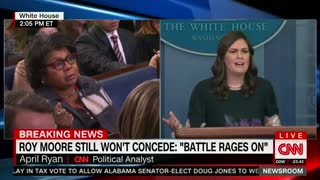 White House: Roy Moore Should Have Already Conceded Alabama Race 1 - Video