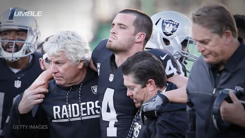 Drunk Raiders Fan Party With A Baby In A Vegas Bar