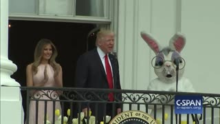 President Trump and Melania will participate in annual Easter egg roll at the White House - Video