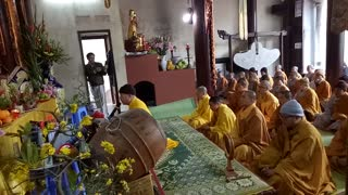 Buddhist Monks In Vietnam  - Video