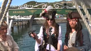 Pastafarian wedding recognized in New Zealand - Video