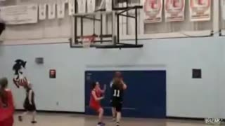 Me trying to dunk!!! - Video