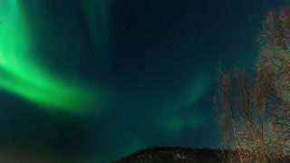 Northern Lights Over Norway - Video