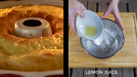 "How to make delicious ""7 Up"" lemon cake"
