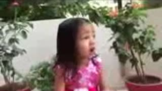 Leaders must learn ''Amazing talented little Girl Aayat - Video