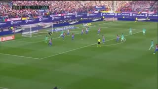 GOOOOAL!! Leo Messi goal vs Atletico Madrid 1-2 - Video