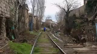 Terrible transport system in Azerbaijan - Video