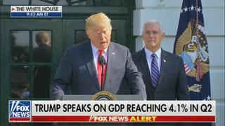 Remember These Leading Democrats Poked Fun At Trump's Prediction Of 4 Percent GDP