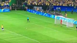 Neymar Penalty Goal vs Germany (Final)