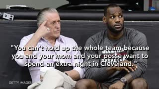 "LeBron James Loses Respect For Phil Jackson Over ""Posse"" Comment - Video"