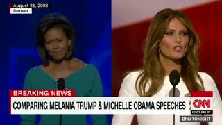 Melania vs Michelle - Video