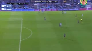VIDEO: Pablo Hernandez goal after a terrible mistake of Ter Stegen - Video