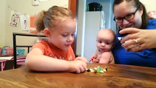 Typical reactions to trying jelly beans - Video
