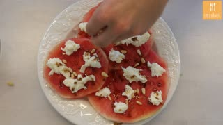 Carpaccio van watermeloen - Video