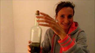 Extra virgin olive oil for the paraffin and Aladdin lamp for the first time - Part 1 - Video