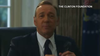 Kevin Spacey, in character, helps Hillary wish Bill a happy 68th - Video