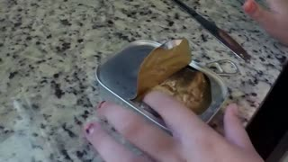 Dad tricks daughter into eating Sardines and MOM finds out! - Video
