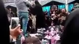 Funeral of the young woman who was killed by her husband - Video