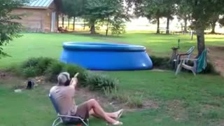 Best way to drain a pool - Video