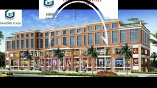 Galaxy Diamond Plaza Noida Extension - Video