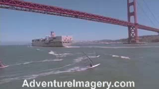 Extreme Sports Stock Footage windsurfing - Video