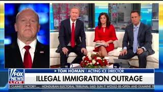 ICE Acting Director Says Trump Is Better Than Previous Presidents on Border Security - Video