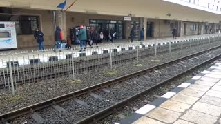 Strange, Spooky, Squeaky Sounds Heard At Romanian Train Station - Video