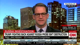 Rep Jim Himes Calls for Legislation Preventing Trump From Firing Mueller - Video