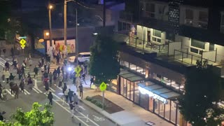 Seattle Stores Looted and Streets Blocked by Rioters