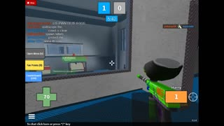 Mad Paintball Gameplay (Roblox) - Video