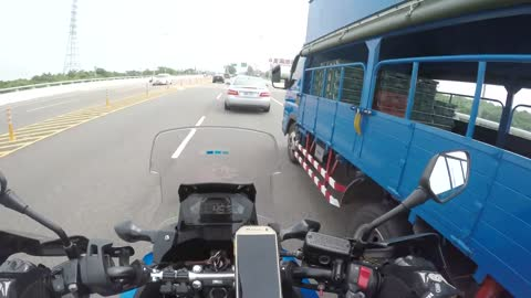 Truck Clips Motorcycle Mirror