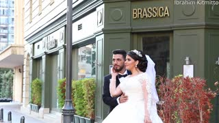 Beirut Wedding Photo Shoot Interrupted by Explosion
