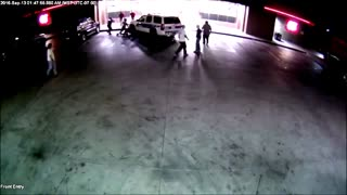 Phoenix Police Officers Injured After Car Rams Into Them - Video