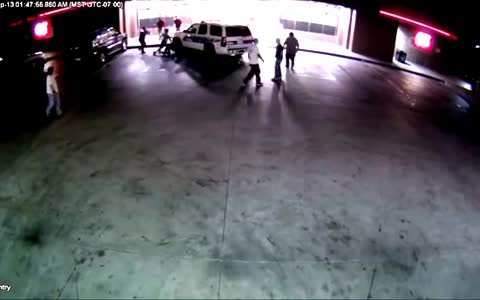 Phoenix Police Officers Injured After Car Rams Into Them