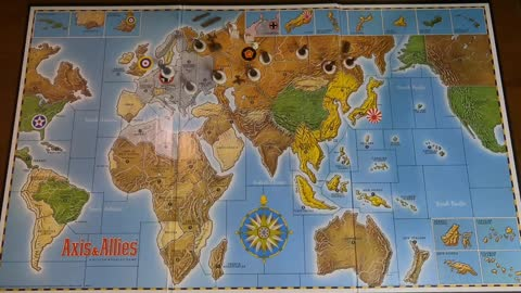 Axis & Allies time lapse set up