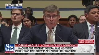 Maloney questions acting DNI in whistleblower hearing