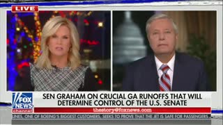 Graham Supports Trump Legal Team But 'Doing a Video Is Not Proof'