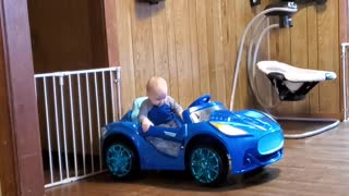 Angry baby driver