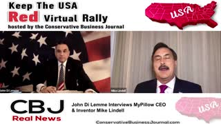 Mike Lindell, My Pillow C.E.O. shares about Donald Trump's GIFT of common sense