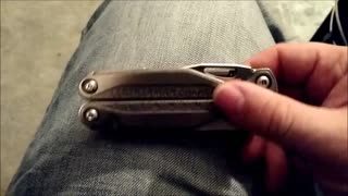 Problems with the Leatherman Charge TTI